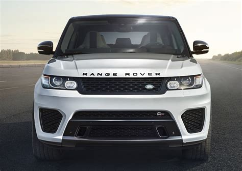 land rover svr white range rover sport svr tested from the passenger seat