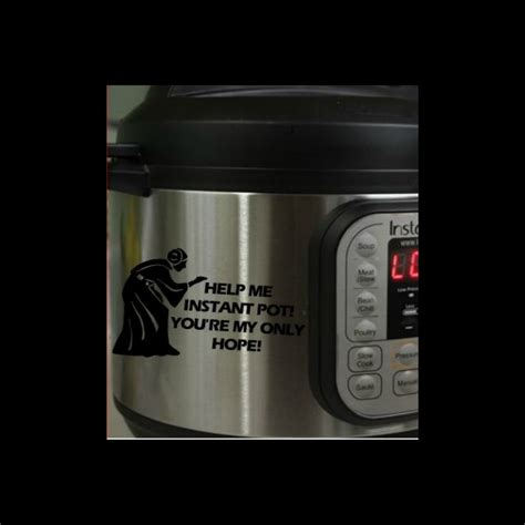Instant Pot Decals | the best pop culture instant pot decals because you know