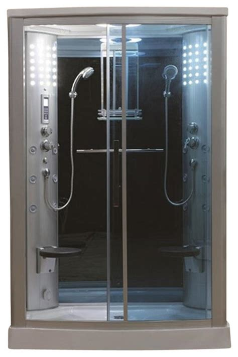 Enclosed Bath And Shower Unit Eagle Bath 54 Inch Steam Shower Enclosure Unit Modern