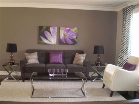 gray and purple living rooms ideas grey purple modern