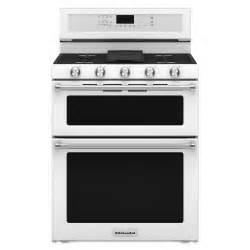 kitchenaid kfgd500ewh 6 0 cu ft 5 burner gas