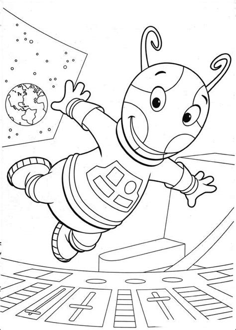 nick jr backyardigans coloring pages free printable backyardigans coloring pages for kids