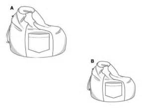 Bean Bag Template by Bag Bean Chair Pattern Sewing My Sewing Patterns