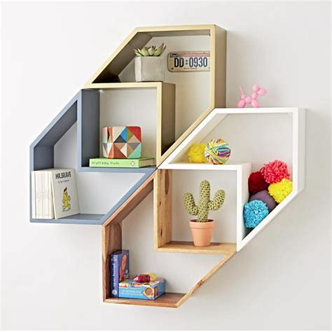 arrow shelf nursery wall storage ideas bellebebeblog