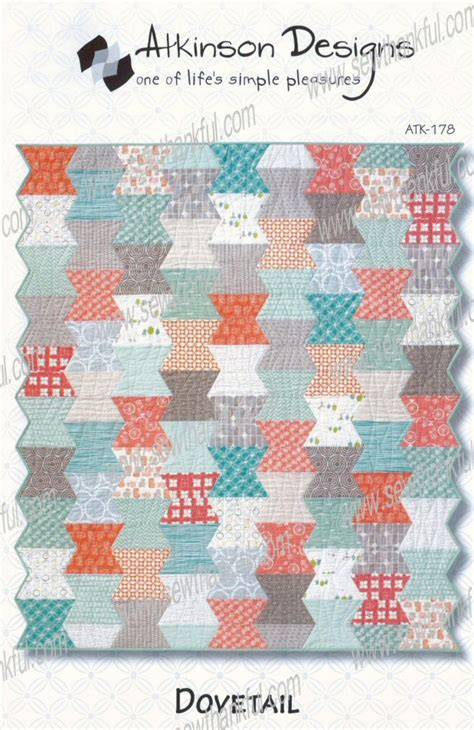Atkinson Quilt Patterns by Dovetail Quilt Sewing Pattern From Atkinson Designs