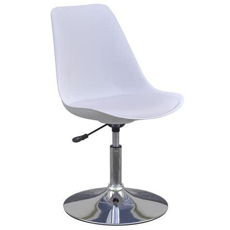 White 4 Chairs Swivel White Table With Adjustable Height Table With Swivel Chairs