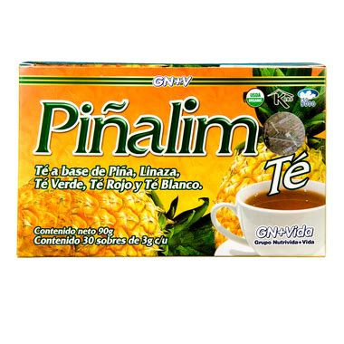 Detox Easy 123 by Pinalim Te De Pina Organico Pineapple Detox Tea