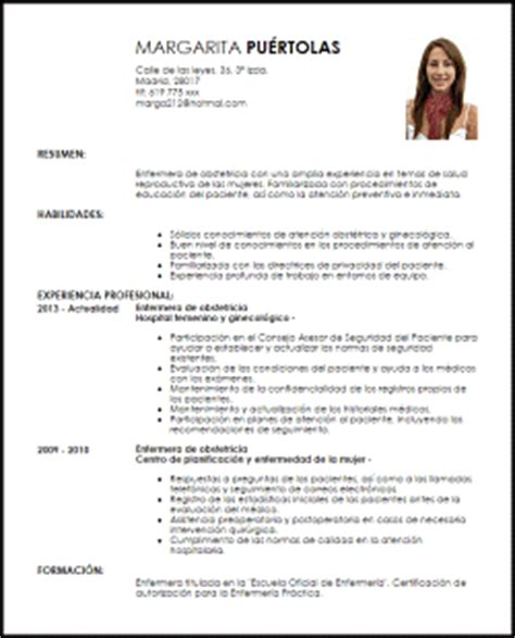 Modelo De Curriculum Vitae En Peru 2012 Modelo Curriculum Vitae Enfermera De Obstetricia Livecareer