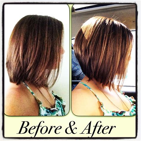 highlights for inverted bob inverted bob with highlights my kinda style pinterest