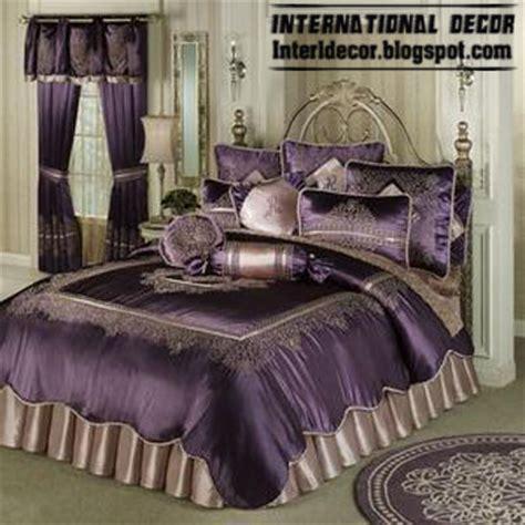 Stylish Purple Bedding Models Purple Duvets Designs Purple Bedding And Curtain Sets