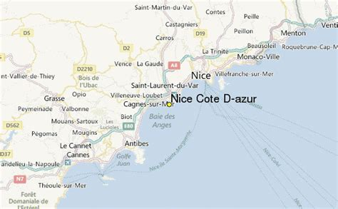 cote d azur weather station record historical