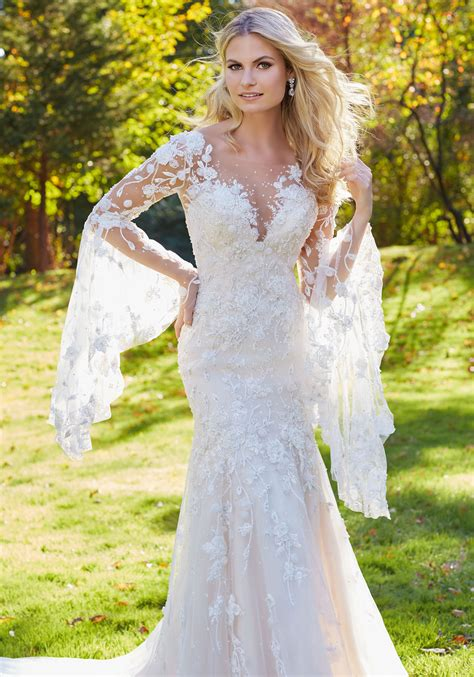 Madonna Wedding Dress   Style 8129   Morilee