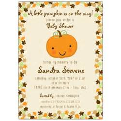 pumpkin baby shower invitations paperstyle
