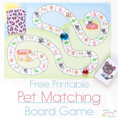free printable board games for preschoolers adorable free printable matching game for preschoolers