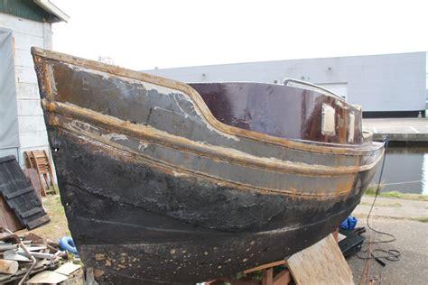 oude opduwer de onrust jacht en scheepsbouw opduwer