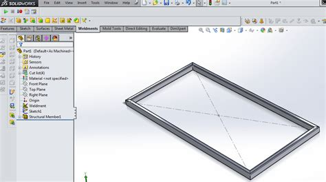 tutorial solidworks weldments basic weldment profiles in solidworks 12cad com