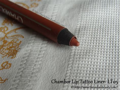 tattoo liner ingredients chambor lip tattoo liner lt05 review swatches the