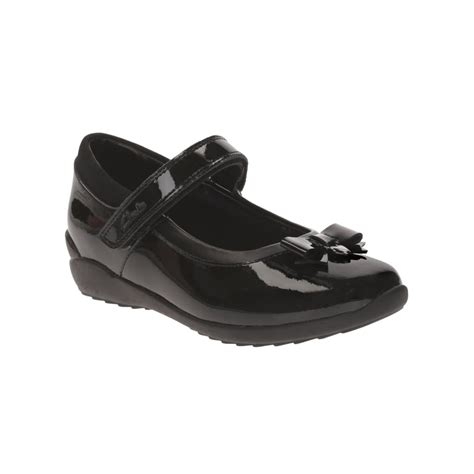 clarks school shoes clarks ting fever junior school shoe shoes by mail
