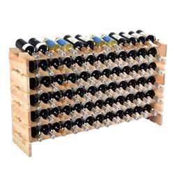 Display Cabinets With Wine Rack Wooden Bottle Rack Wine Display Shelves For 72 Bottles