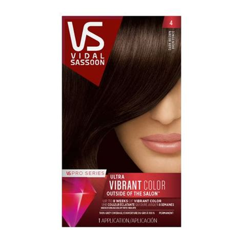 vidal sassoon hair colors vidal sassoon pro series permanent hair colour walmart