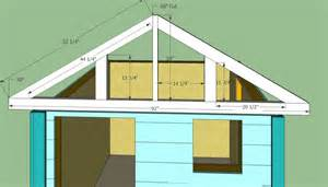 roof building plans wooden playhouse plans howtospecialist how to build step by step diy plans