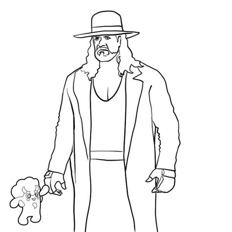 undertaker coloring pages az coloring pages