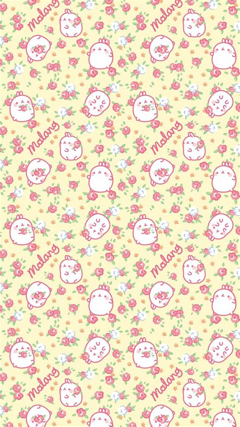 pattern cute korea molang cute patterns violetarchive patterns molang