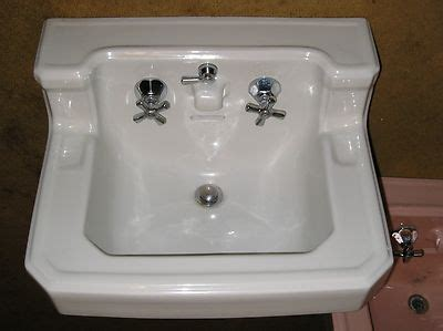 old bathroom sinks antique vintage american standard pink bathroom sink console sink american standard