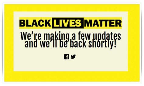 matter site ghost squad ddos black lives matter website because all