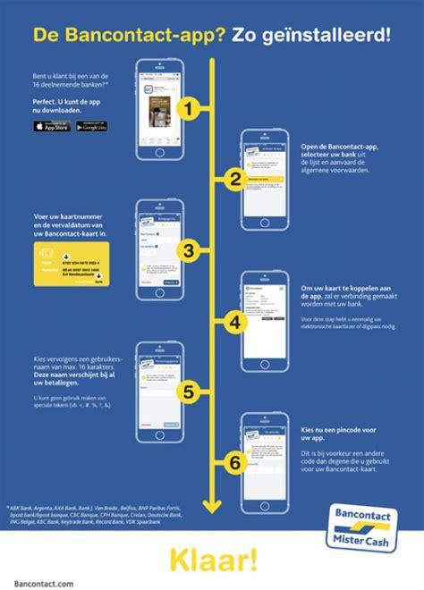 deutsche bank app belgie mobiel betalen met de bancontact app multimedia