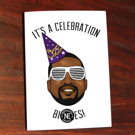 kanye west birthday card template 1000 images about hip hop birthday cards on