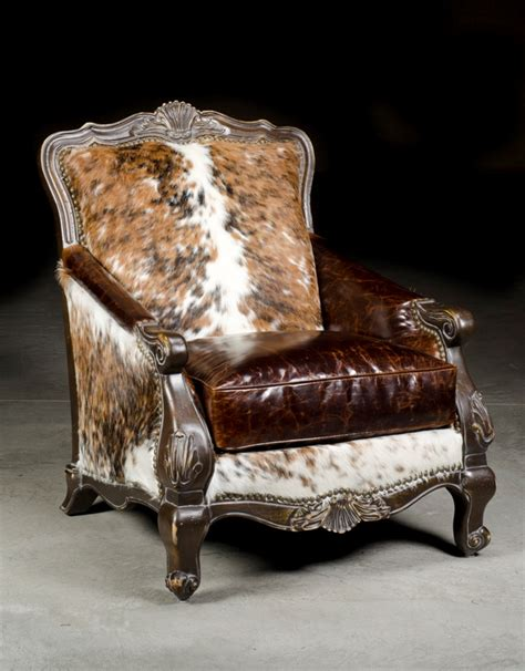 Cowhide Recliner Cowhide Home Decor Places In The Home