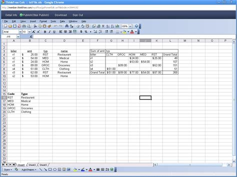 Best Spreadsheet For by Techjotter
