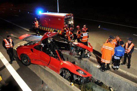 dodelijk ongeval met ferrari f430 nabij spa francorchamps