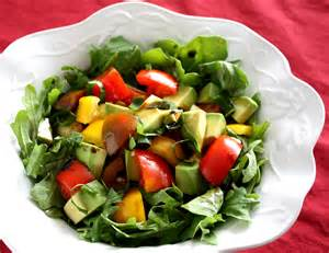 Salad by Heirloom Tomato Amp Avocado Salad Foodie Reflections