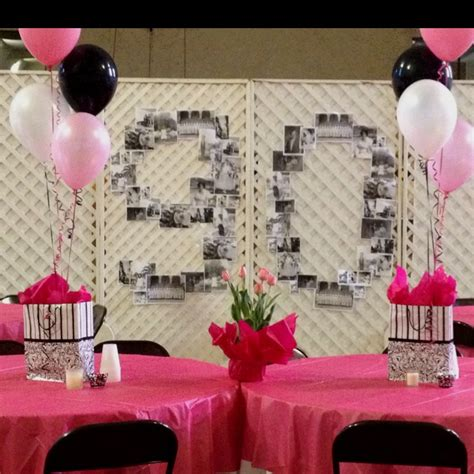 table decorations for 90th birthday party myideasbedroom com