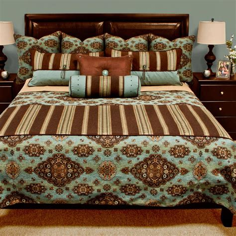 teal coverlet queen western bedding queen size kensington teal reversible