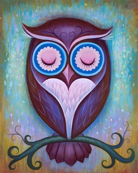 Think Cook Cook Ornamen Owl best 25 owl paintings ideas on owl owl