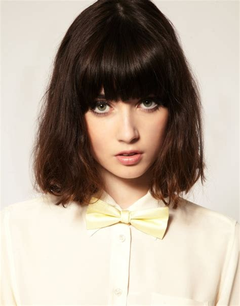 college bob hairstyles 72 best images about fringes on pinterest straight bob