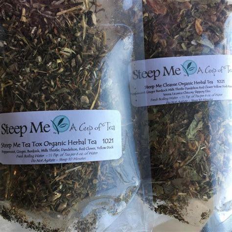 Steep Detox Tea by Steep Me Cleanse Organic Herbal Tea Steep Me A Cup Of Tea