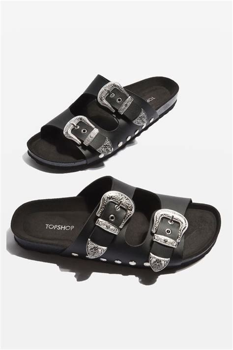 sandals with buckles falcon buckle sandals topshop