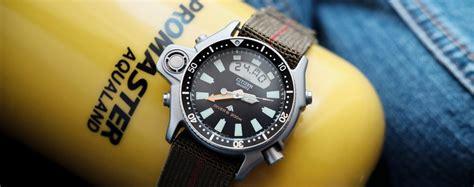 citizen dive watches review citizen aqualand promaster the blue collar dive
