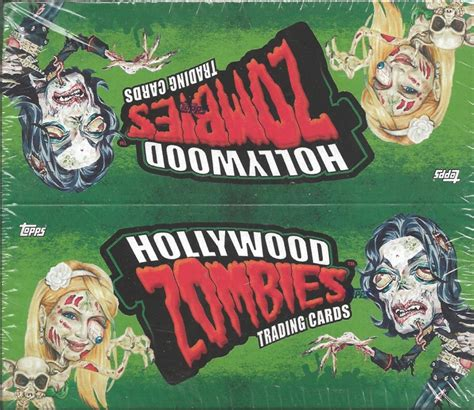Hollywood Video Gift Card - hollywood zombies trading cards from topps