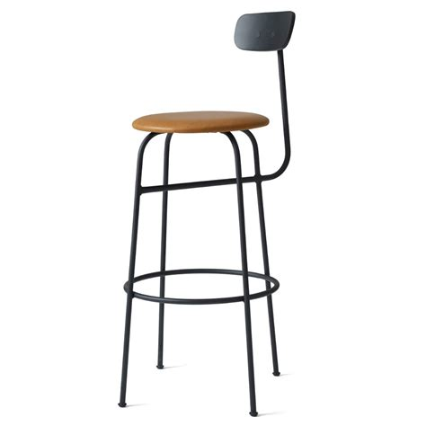 Leather Bar Stools Canada | menu afteroom bar stool leather upholstered gr shop canada