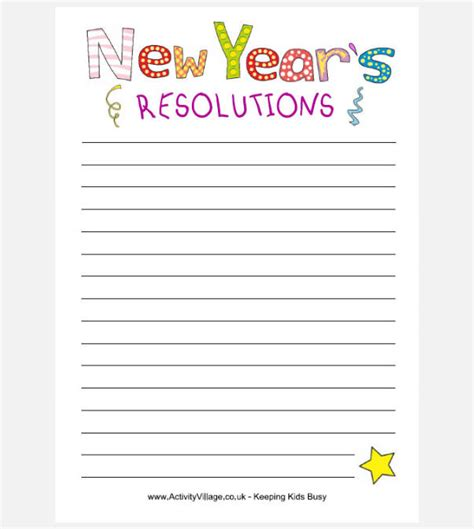 30 best new year resolution templates design ideas for