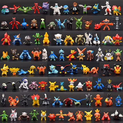 high new 24pcs pokemon toy set mini action figures pok 233 mon