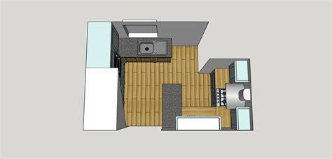 Kitchen Birds Eye View by Kitchen Design White Willow Furniture Bespoke