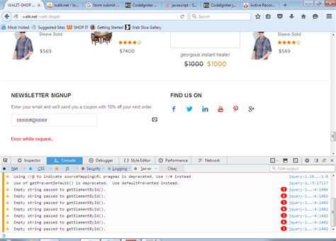 submit form using ajax in codeigniter
