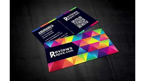 graphic business card templates modern graphic design business card designs theveliger