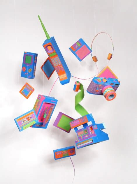 How To Make Paper Gadgets - awesome and colorful papercraft gadget replicas